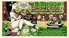 The Burlesque Showcase POSTER Derek Yaniger Viva Las Vegas VLV14 Shag Like
