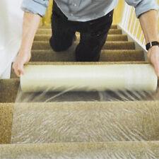 "Carpet Floor Protector Self Adhesive Plastic Protection Film 24"" X 328' Roll USA"