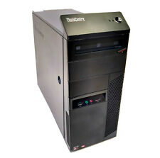 Lenovo ThinkCentre Business PC Desktop AMD A8 3.5GHZ Radeon GPU 8GB RAM 500GB HD