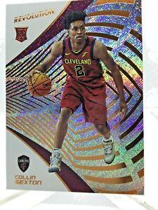 2018-19 Revolution Collin Sexton RC Basketball card Cleveland Cavaliers