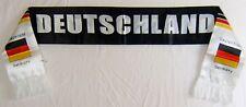 German Soccer Fan Scarf Shawl Deutschland Fan Black-White Double Layer NIB
