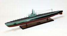"USS Balao Balao-Class Submarine Handmade Wooden Ship Model 39"" Museum Quality"