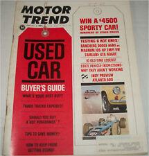 June 1967 Motor Trend  Magazine