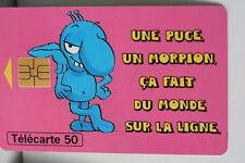 TELECARTE 50 LA FRANCAISE DES JEUX LE MORPION 1996