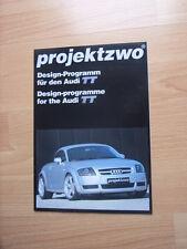 Projektzwo Design Programm f. Audi TT Prospekt / Brochure / Depliant, D, ca.1999