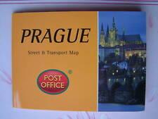 PRAGUE - Street & Transport Map Pocket Guide Pop-Up NEW Capital Czech Republic