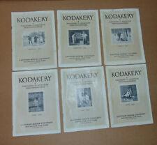 13 Issues Of The Kodakery 1920-1921