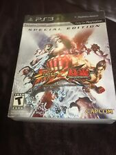 Street Fighter X Tekken: Special Edition PS3 New Sealed