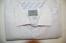 $110 NWOT Thomas Dean Men's Long Sleeve Dress Shirt Size L 16 - 34/35