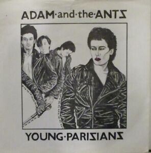 "ADAM & THE ANTS ~ Young Parisians ~ 7"" Single PS"