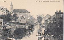 Postcard-HOF/overlooking the Michael Church U. Sigi Mouth Trench