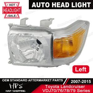 New Headlight For Toyota 70 series Landcruiser VDJ76 VDJ78 VDJ79 07-Onwards LH