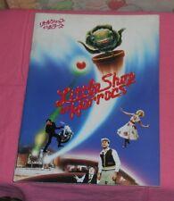 original LITTLE SHOP OF HORRORS Japanese movie program