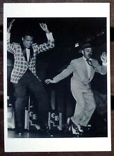 SUGAR RAY ROBINSON - Photo postcard of the legendary fighter dancing (new, vtg)