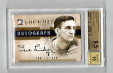 TED LINDSAY 2007/08 ITG SUPERLATIVE AUTOGRAPH SILVER #ATL BGS 9.5 /10 Pop.1