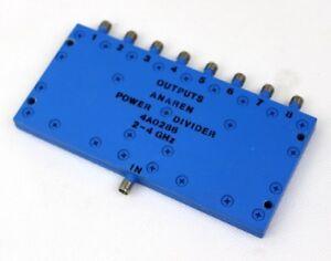 8-way Power Splitter ANAREN 2-4 GHz 4A0286 SMA