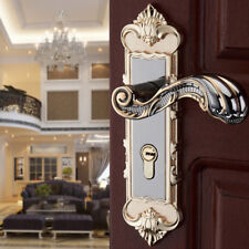 Entry Lever Door Lock Set Handle Home Entrance Passage Bath EURO Zinc alloy USA