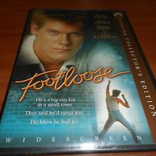 Footloose (DVD, 2004, Widescreen Special Collector's Edition) Kevin Bacon NEW