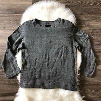 RtA Gray Knit Oversized Women's Sweater Size S