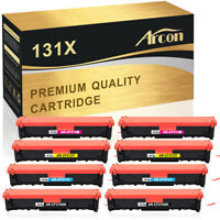 8PK Toner Compatible for HP 131X CF210X  LaserJet Pro  M276nw MFP M251n M251nw