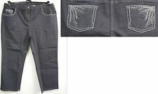 Markenlose Damen-Jeans aus Denim in Kurzgröße