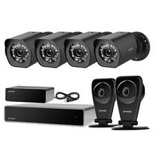 Zmodo 1080P 8CH NVR 4 PoE+2 Wireless Audio Security Camera System 1TB w/Repeater