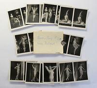 10 Orig Stereofotos Aktfotografie Serie S. 210 um 1920 Erotik Nacktfoto Erotika