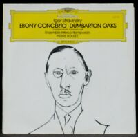 Stravinsky Boulez Intercontemporain : Ebony concerto... LP NM, CV NM -