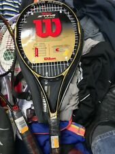 WILSON TENNIS RACKETS STING 97 plexis  AT £24    size 3  GRAPHITE BRAND NEW