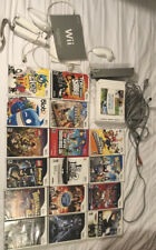 wii console bundle with games, 2 Controllers and Nunchuk