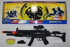 Army Soldier MP5 Shotgun Bullet Shooter Blaster Toy Fancy Dress Cosplay