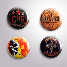 4 GUNS N' ROSES - Pinbacks Badge Button Pin 25mm 1''