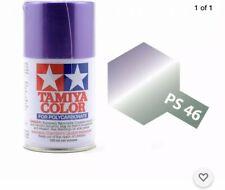 Tamiya PS-46 Iridescent Purple/Green Spray Paint POLYCARBONATE 3.35 oz. (100ml)