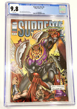 Supreme  V2 #4  CGC  Graded 9.8  White Pages  1993  Comic Book