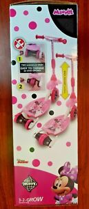 Disney Juniors Minnie Mouse 3-2- Grow Scooter Huffy Disney -*NEW* FREE SHIPPING