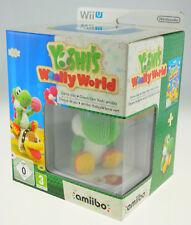 Yoshi's Woolly World Green Yarn Yoshi amiibo Edition Nintendo Wii U NEU MINT