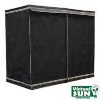 Virtual Sun Reflective Mylar Hydroponic Plant 96x48x78 Grow Tent Box - VS9600-48