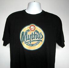 Mythos Greek Brewery Hellenic Lager Beer T Shirt Mens XL Unicorn logo