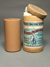 New ListingColumbia Brown Wax Cylinder – 1897