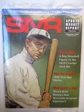 New  SMR SPORTS MARKET REPORT Magazine , Ty Cobb A Key Baseball Figure ,Sep 2018