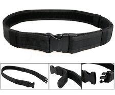 Adjustable Heavy Duty Police Army Security Tactical Belt Combat Gear Equipment