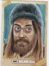 Topps The Walking Dead Season 6 Jesus Sketch Card Jimenez Original Art