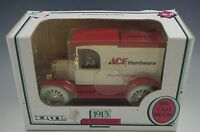 ERTL 1913 MODEL T TRUCK ACE HARDWARE COIN BANK DIE CAST 1/25 SCALE MIB