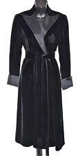 RALPH LAUREN BLACK LABEL Womens Robe Velour Dress Size 2