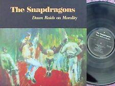 Snapdragons ORIG UK LP Dawn raids on morality NM 1989 Alt Rock Native NTVLP42