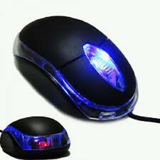 Newhigh Qualità LED USB Mouse Ottico rotellina di scorrimento per PC portatile