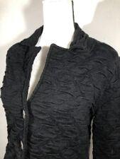 GUIDO PISANI ITALY Sweater Jacket Merino Wool Blend Sz M EUC Free Shipping H