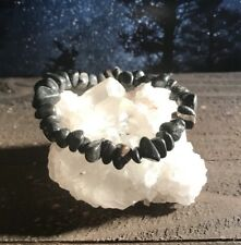 ANCIENT POWERFUL OLDEST KNOWN MINERAL ISUA STONE Crystal Bracelet GREENLAND