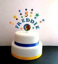Qualsiasi nome, età SCOOBY-DOO COMPLEANNO CAKE TOPPER (o altri caratteri)