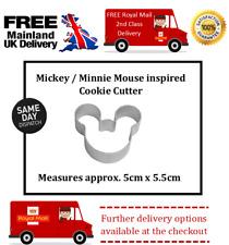 Mickey / Minnie Mouse biscuit / cupcake / sugar craft / fondant/ cookie cutter